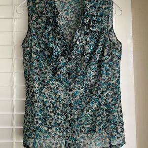 Tahari, Arther S. Levine, Sleeveless Blouse
